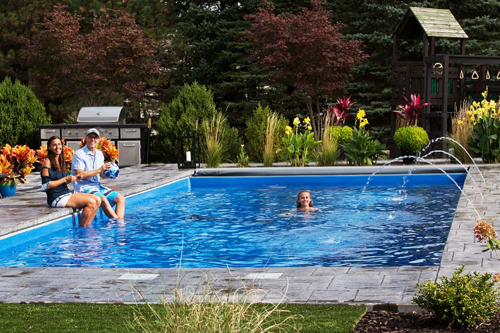 LED bubblers, fountains, and laminars for pools
